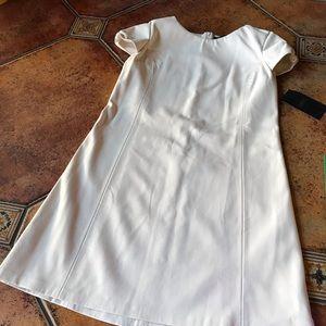 ZARA dress, leather like, SZ L, NWT